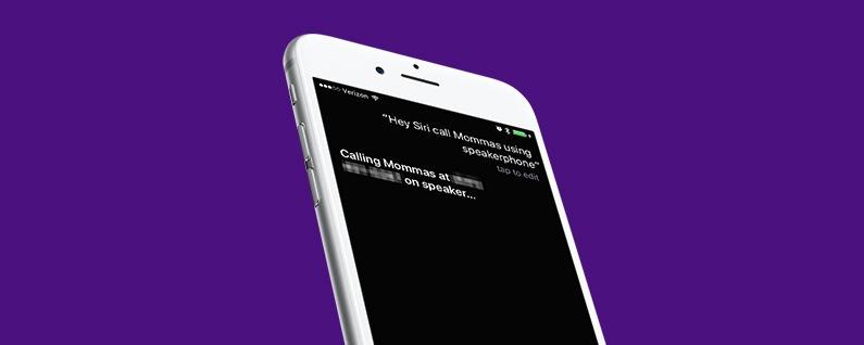 How To Make Speakerphone Calls Using Siri