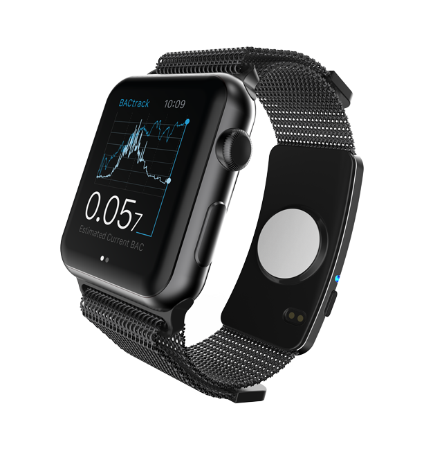 BACtrack Skyn Apple Watch band
