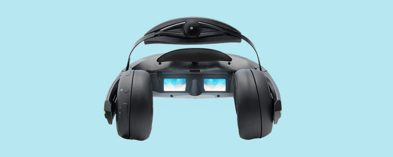 Review: See the VR Viewer Future with iWear Video Headphones