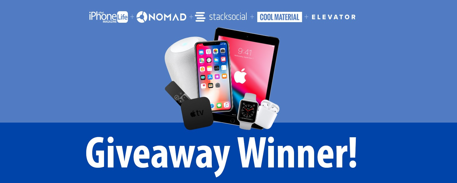 Announcing the Winner of Our Win Apple's New Lineup Giveaway