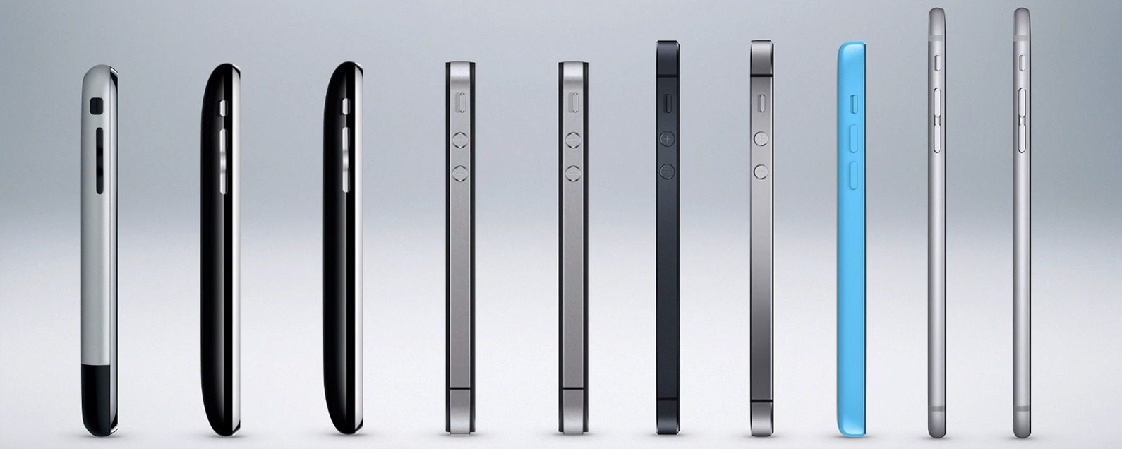 The Evolution of the iPhone Every Model from 2007\u20132018