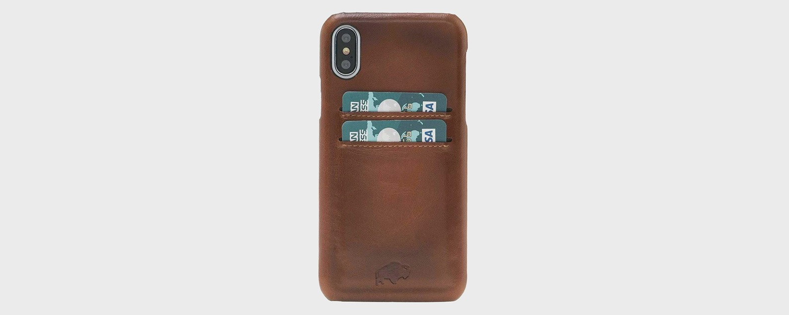 the latest 23a74 79085 Review: Leather iPhone X Cases in Wallet & Other Styles   iPhoneLife.com