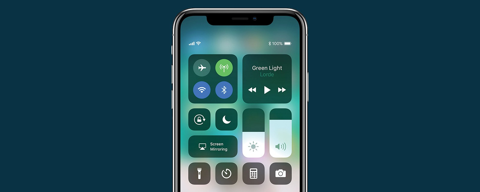 How to Access Control Center on iPhone XS | iPhoneLife com