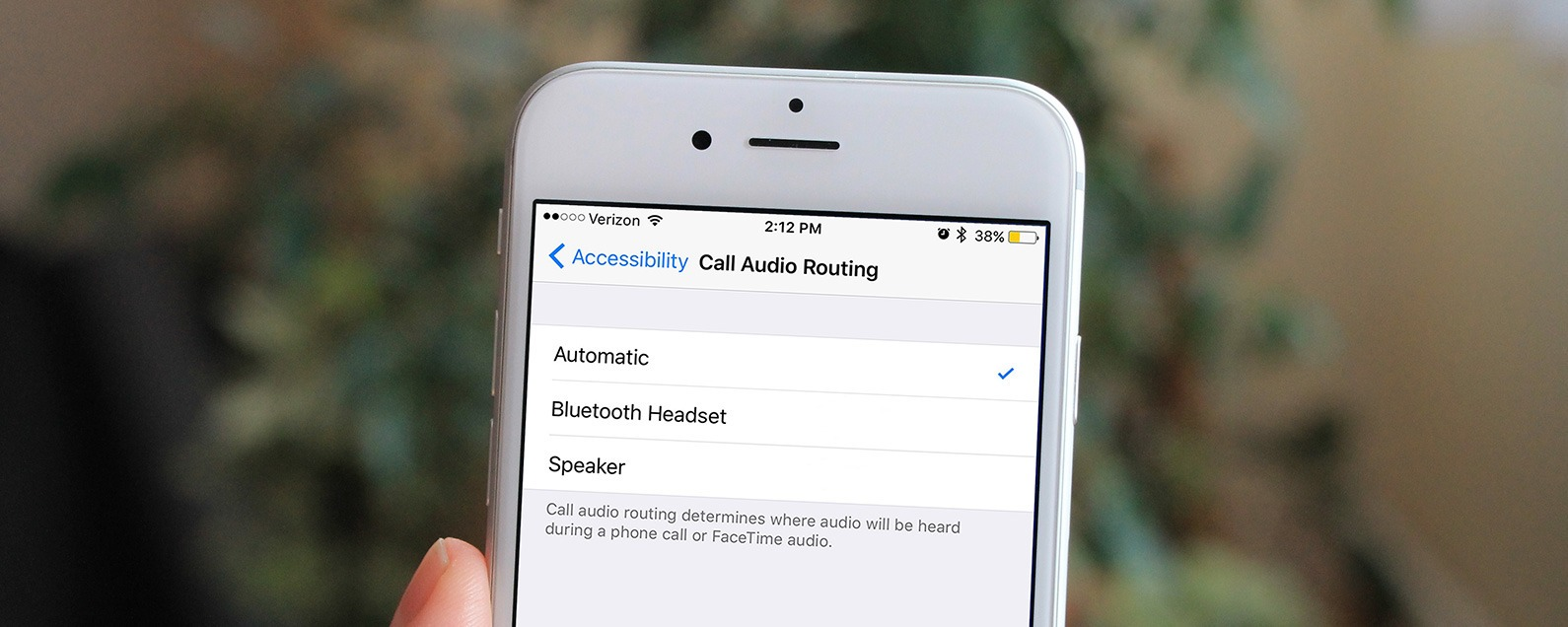 How To Set A Bluetooth Speaker Or Headphones As The Default Audio On Your Iphone
