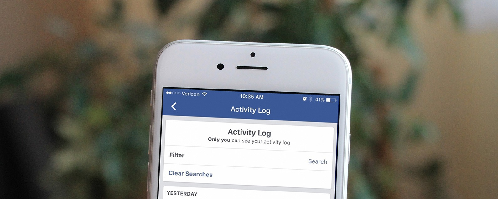 How to Clear Your Facebook Search History on iPhone | iPhoneLife com