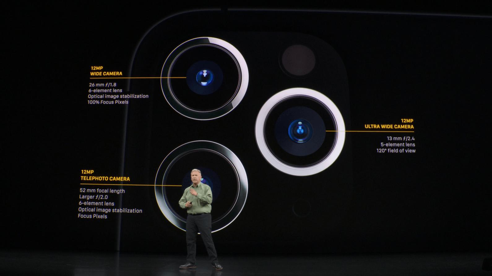iphone 11 pro 3 cameras
