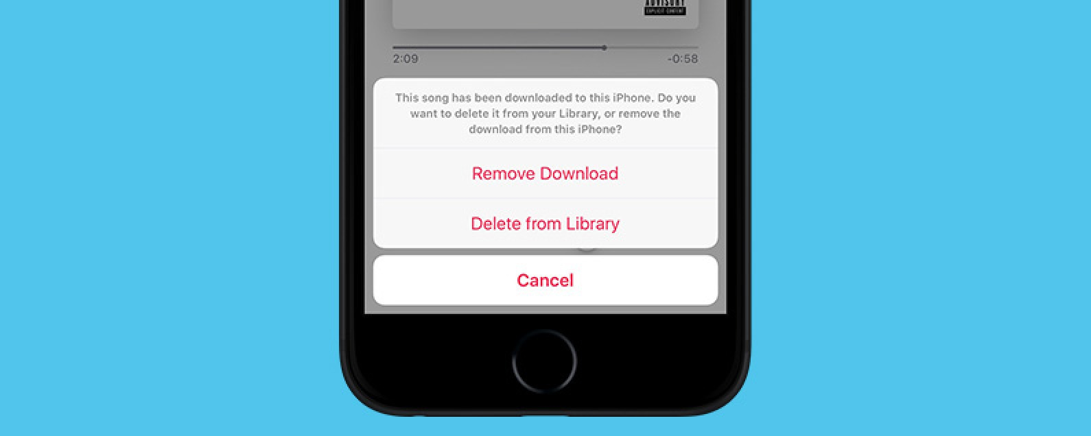 How to Delete a Song from Your Apple Music Library on iPhone