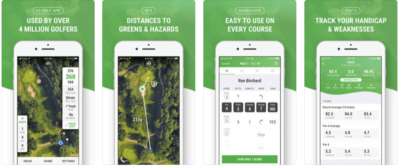 Updated for iOS 12 & watchOS 5: 15 Best Golf Apps for Apple Watch