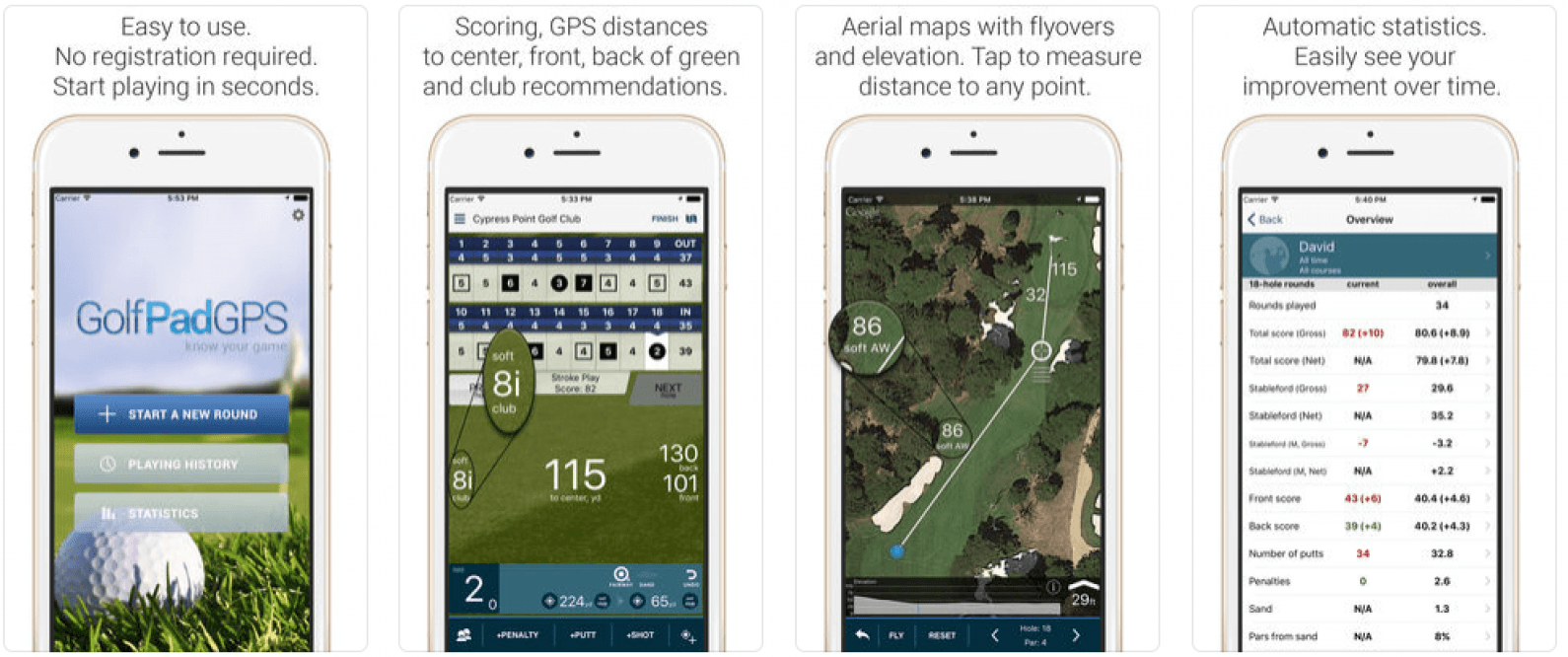 Updated for iOS 12 & watchOS 5: 15 Best Golf Apps for Apple