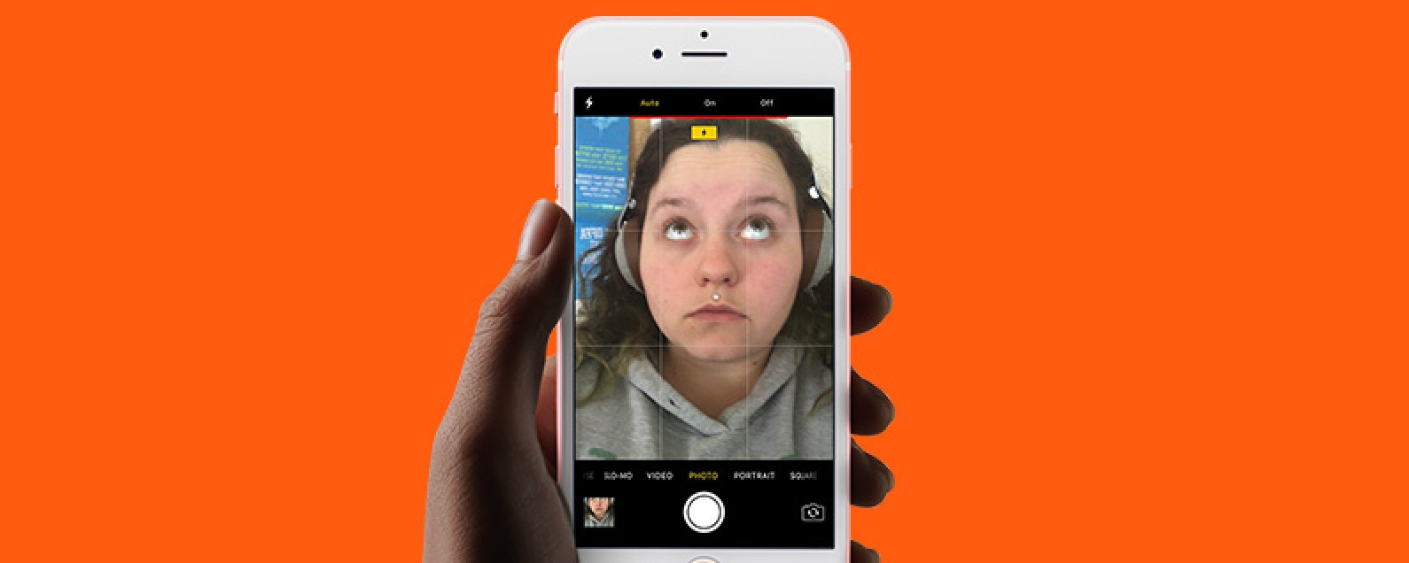 How to Turn Selfie Flash On & Off on iPhone | iPhoneLife com