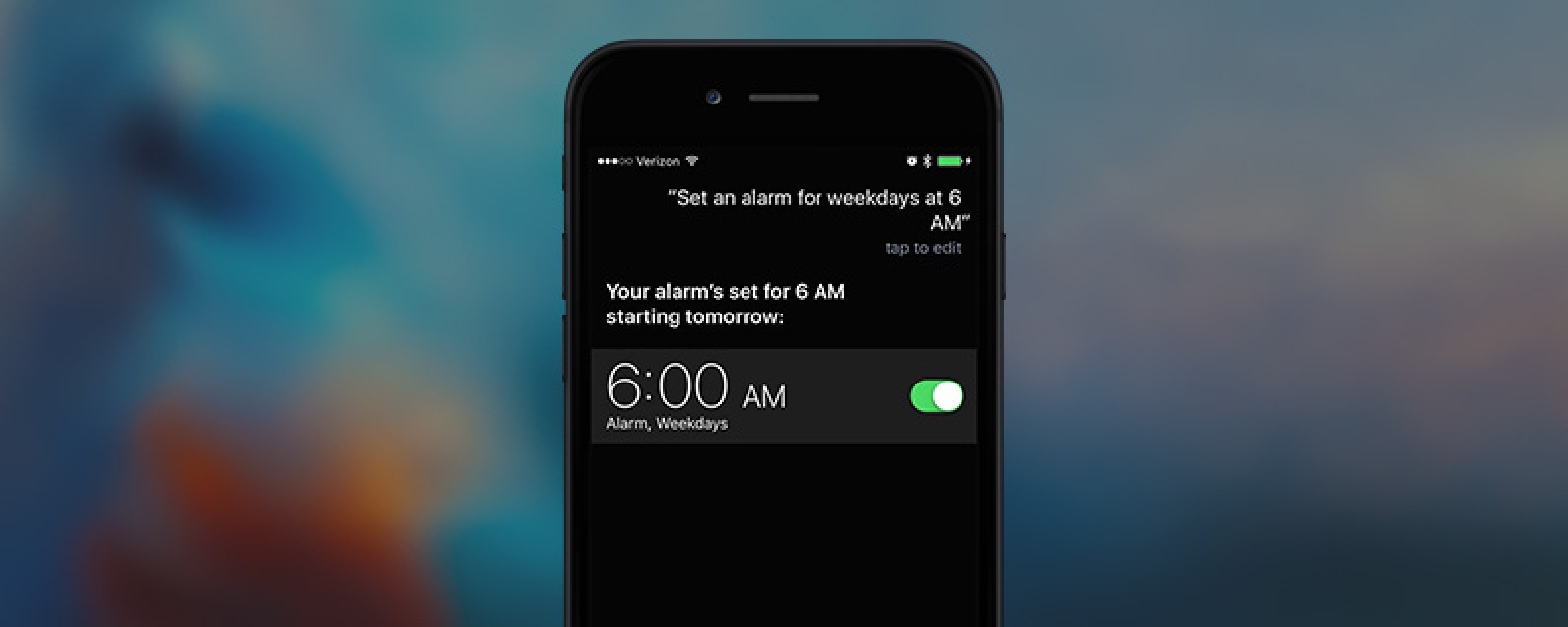 How To Tell Siri to Set an Alarm on Weekdays Only | iPhoneLife com