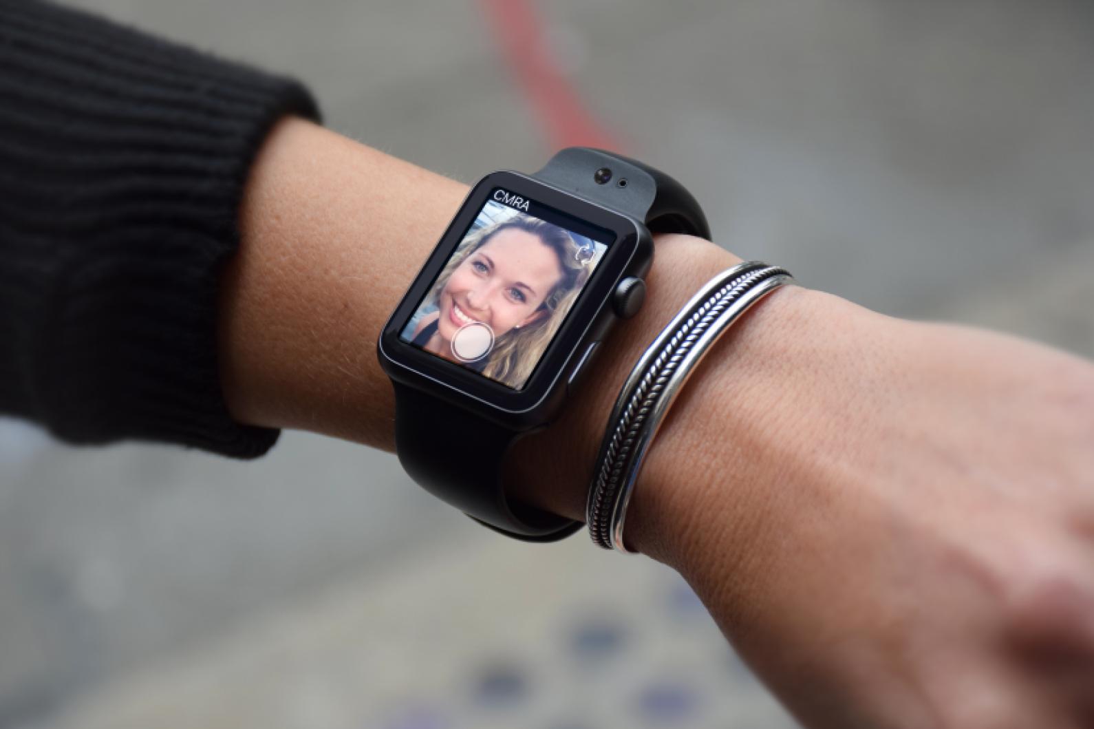 CMRA apple watch band camera