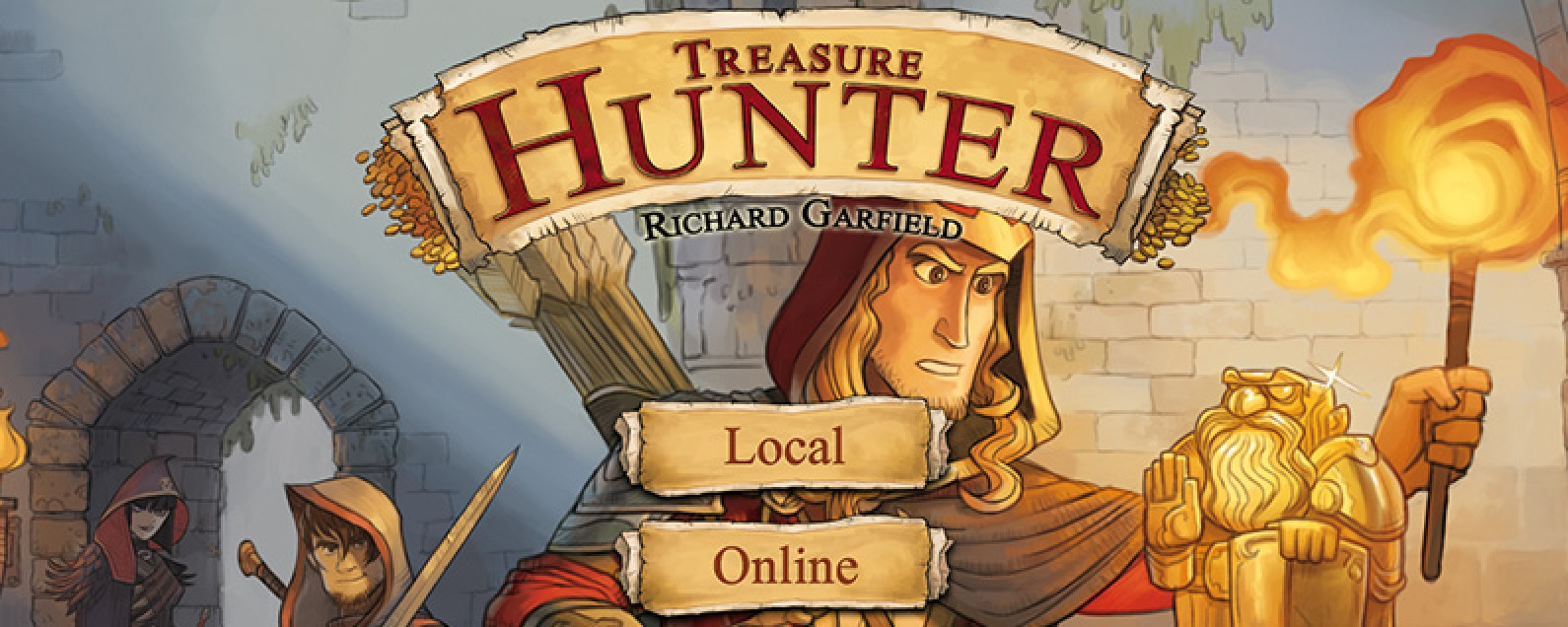 Best Board Game Apps for iPad: TreasureHunter Review