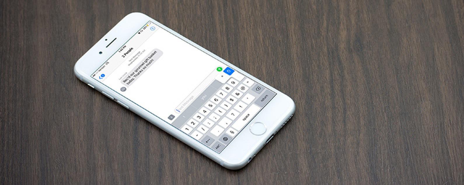 iPhone Symbols: How to Type the Temperature Degree Symbol