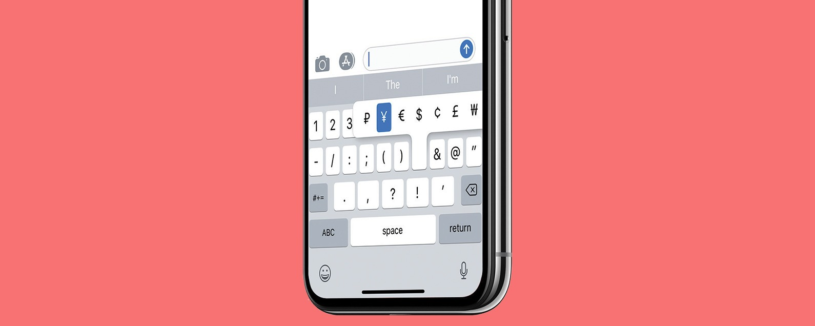 Currency Symbols: How to Type the Yen Symbol on Your iPhone
