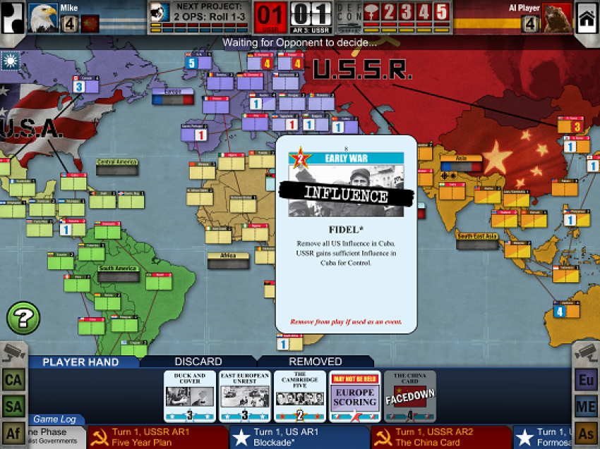 Review can twilight struggle for ipad capture the original board twilight struggle influence gumiabroncs Gallery