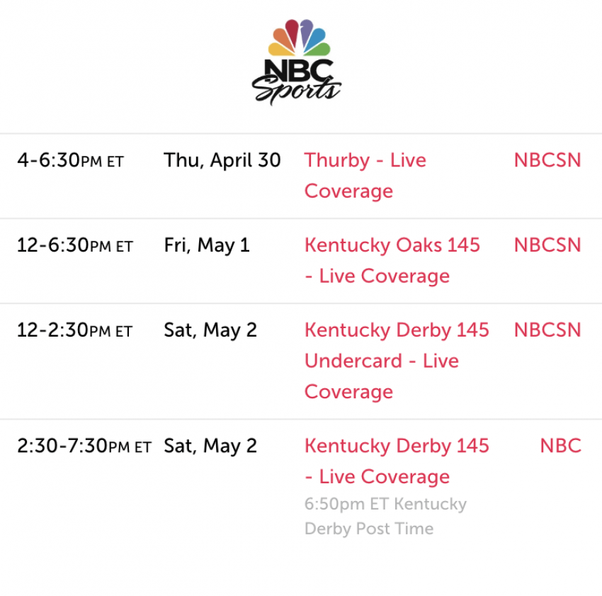 How To Watch The 2020 Kentucky Derby Live On Your Apple Device Without Cable