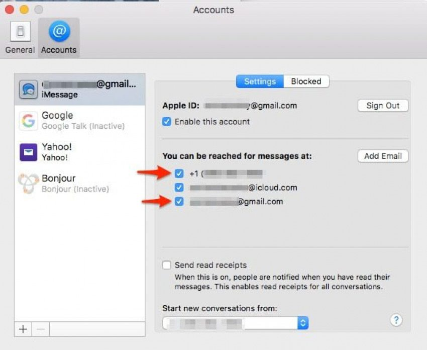 view iphone text messages on mac