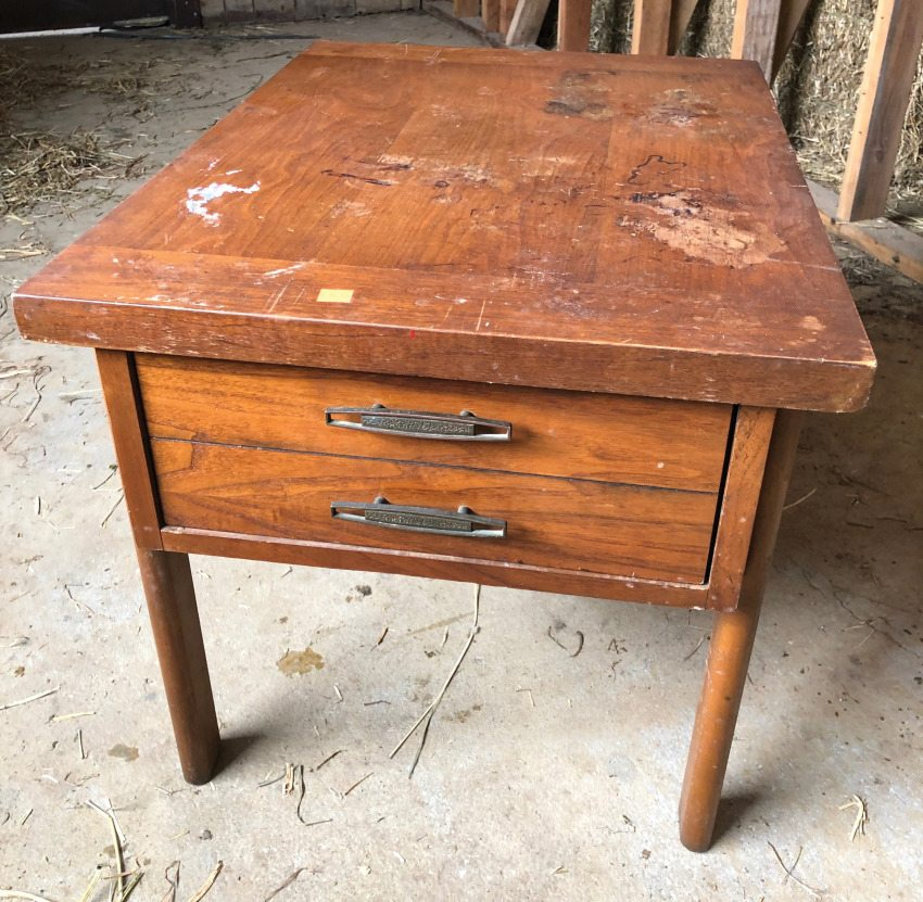 I Didn T Want To Spend Too Much When It Came The Piece Of Furniture D Be Upcycling After All How Should A Used Nightstand Really Cost