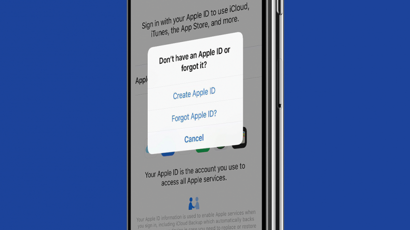 forgot apple id password ipad uk