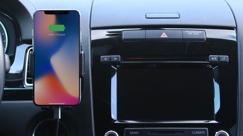 Review Smart Wireless Car Charging Mount For Your Iphone