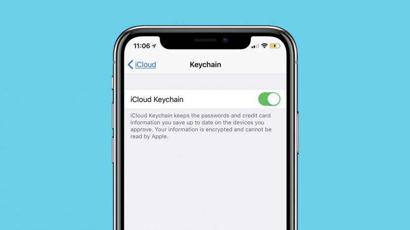 how to reset keychain access on iphone