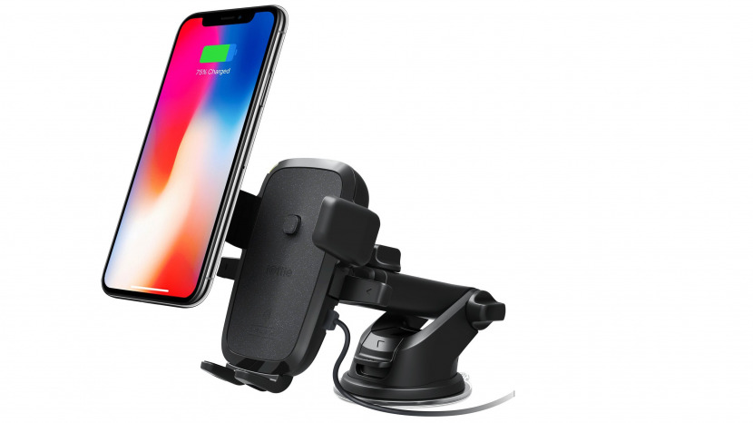 big sale 4bc93 14d2c Review: iOttie Car Mount for iPhone X & 8 with Qi Wireless Charging ...