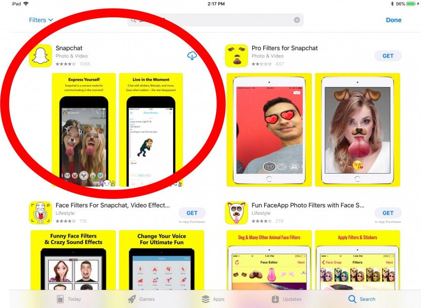 Snapchat on iPad: The Secret Way to Download iPhone-Only Apps to an
