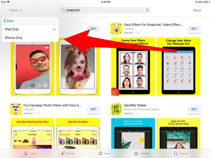 Snapchat on iPad: The Secret Way to Download iPhone-Only