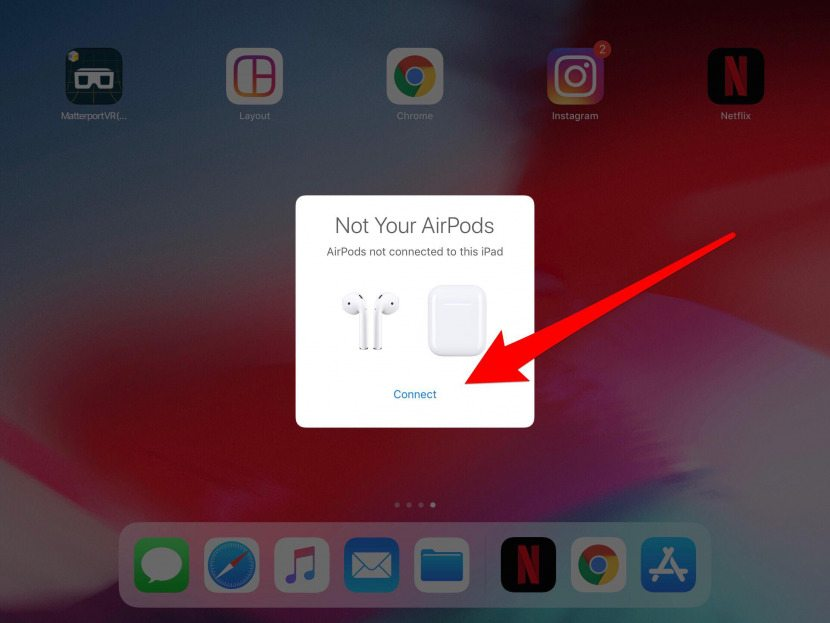 How to add airpods to your find my iphone