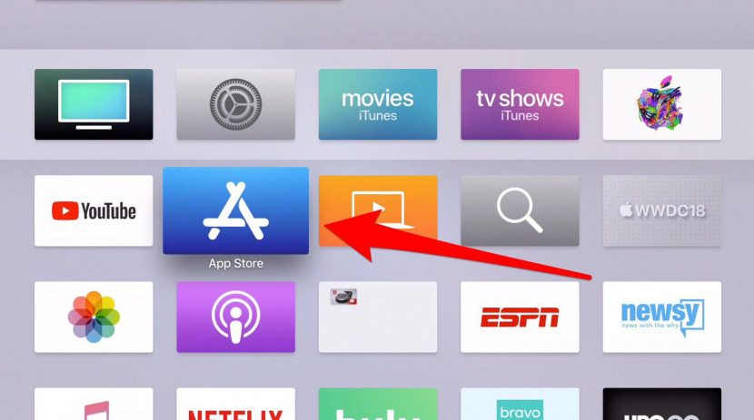 how to download apps on apple tv generation 3