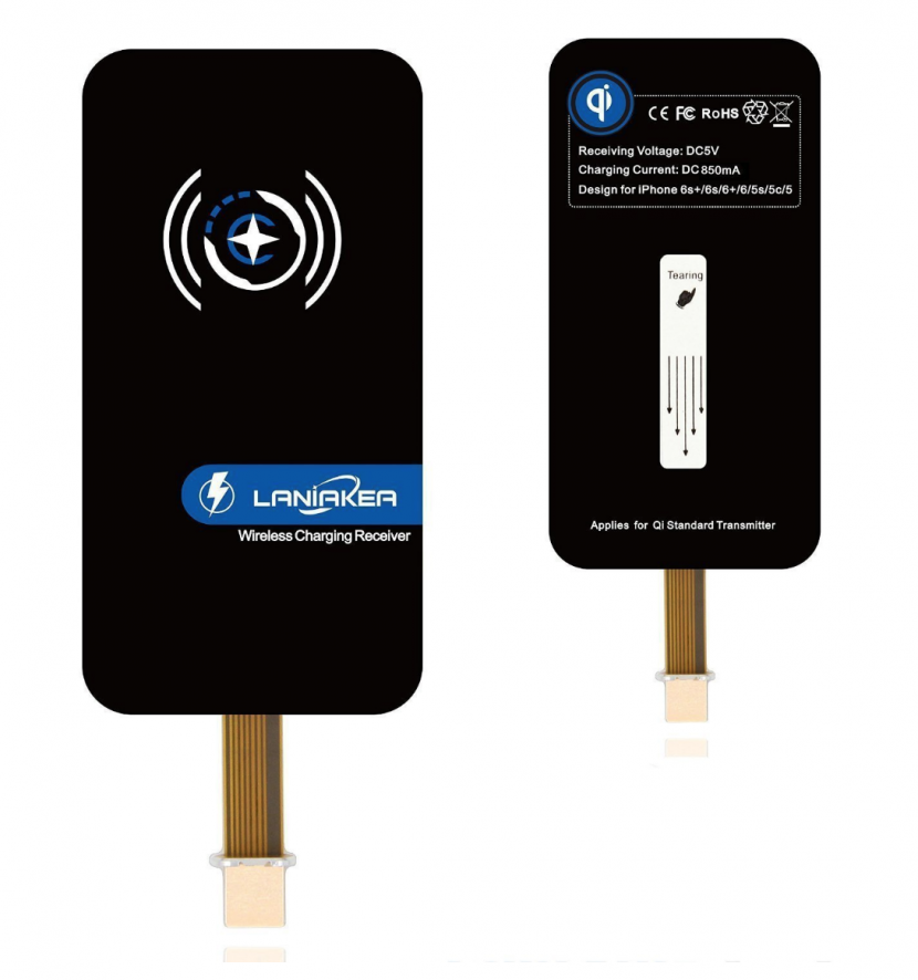 iphone charging sticker