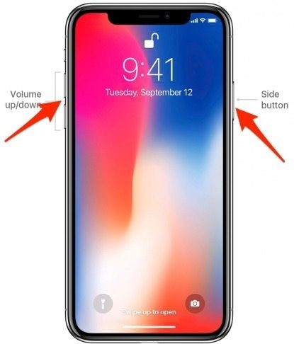 how to turn on iphone x turn off iphone x iphonelife com