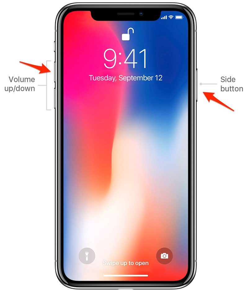 iphone screen capture how to take a screenshot on iphone x iphonelife 12273