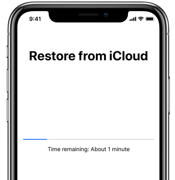 how to reset ipad with icloud backup