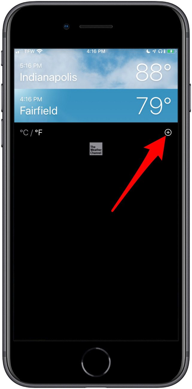 How to Set a Default Location in the iPhone Weather App | iPhoneLife com