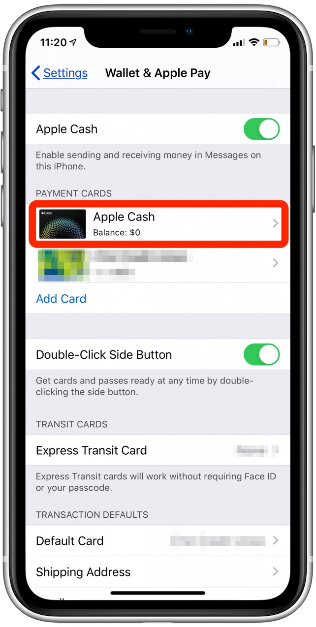 apple pay cash iphone