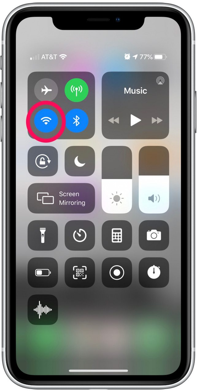 fast wifi disconnect iphone