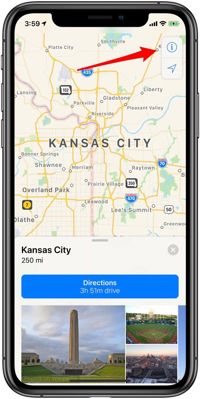 How to Switch to Satellite View in Apple Maps on the iPhone
