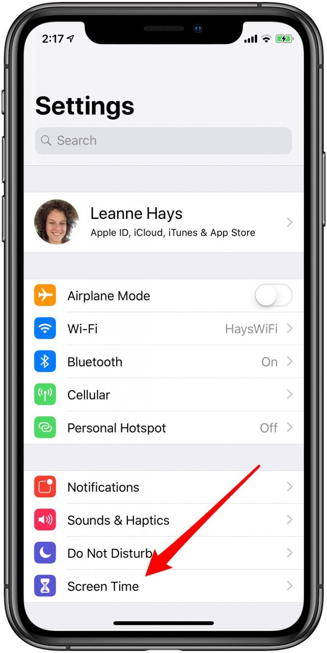 How to Set Downtime in Screen Time Settings on Your iPhone ...