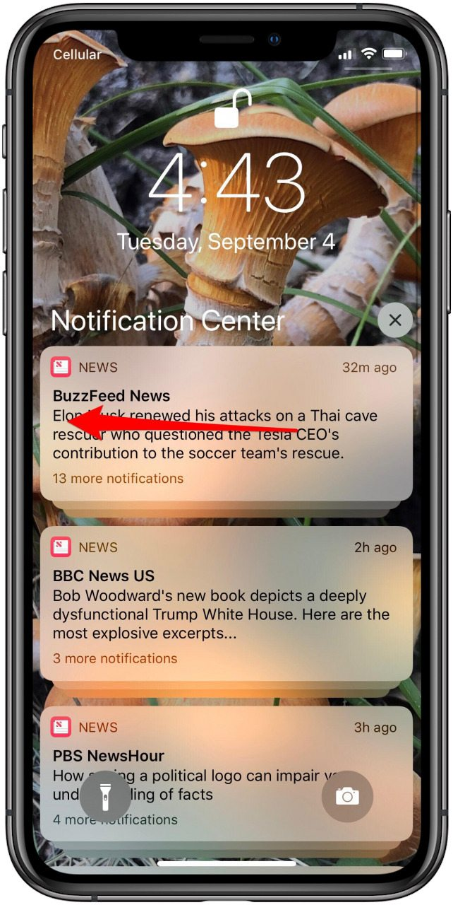 ios 12 notifications