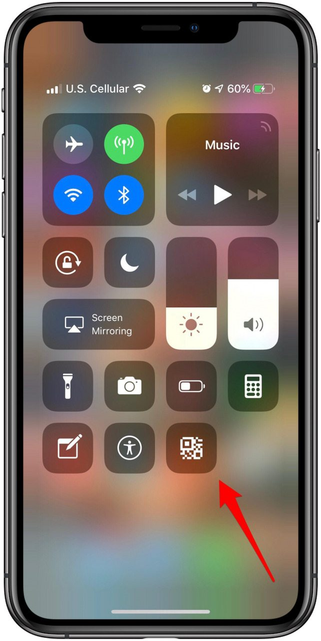 How to Add a QR Scanner to Control Center on iPhone & iPad