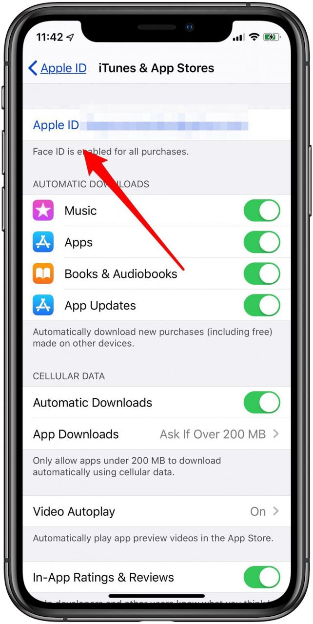 where to find your apple id in settings