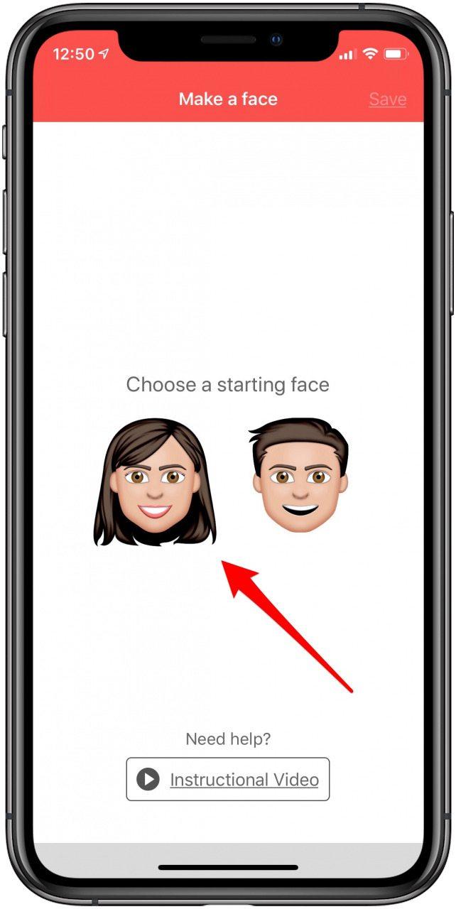 choose your emoji template