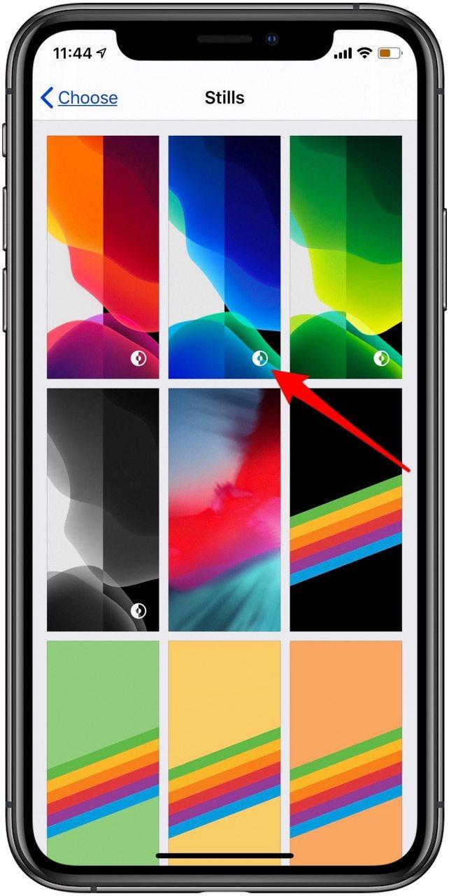 iOS 13 Dark Mode Wallpaper