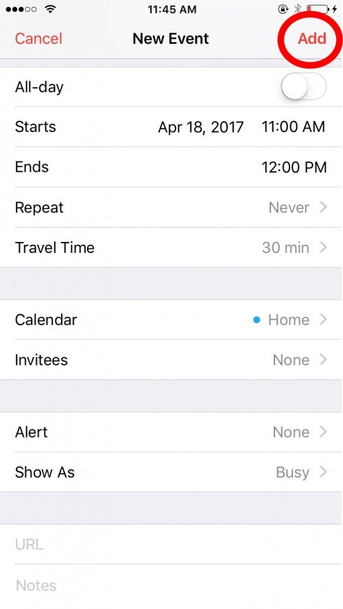 How To Create Events And Send Invites With The Calendar App On