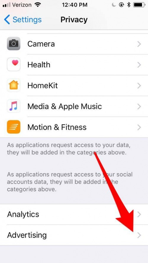 How to Limit Ad Tracking in Apple Apps on iPhone