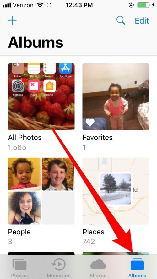 How to Delete or Add a People Album in Photos on iPhone