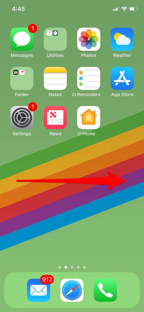 widgets for iphone