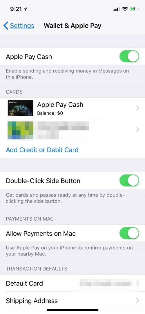 delete stolen card apple pay